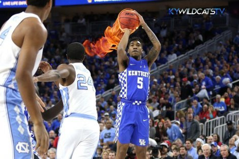 Kentucky Wildcats vs North Carolina Basketball Beatdown