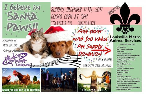 Santa Paws Benefit for Louisville Metro Animal Services
