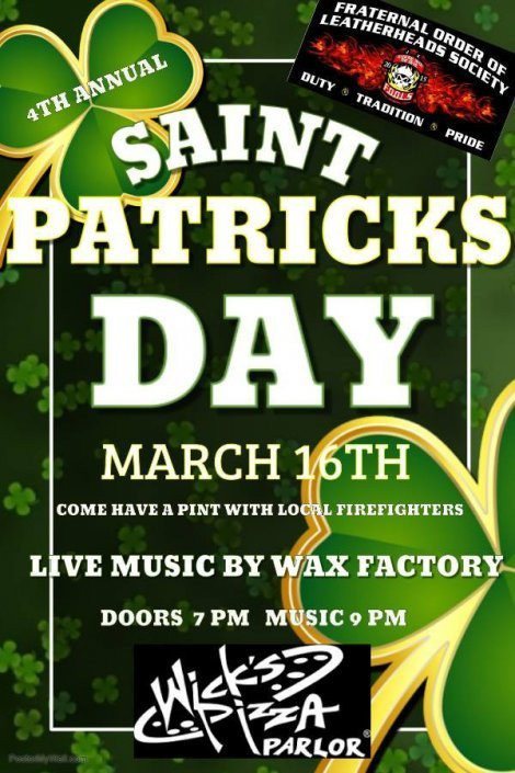 4th Annual St Pattys Blowout W/Wax Factory!!